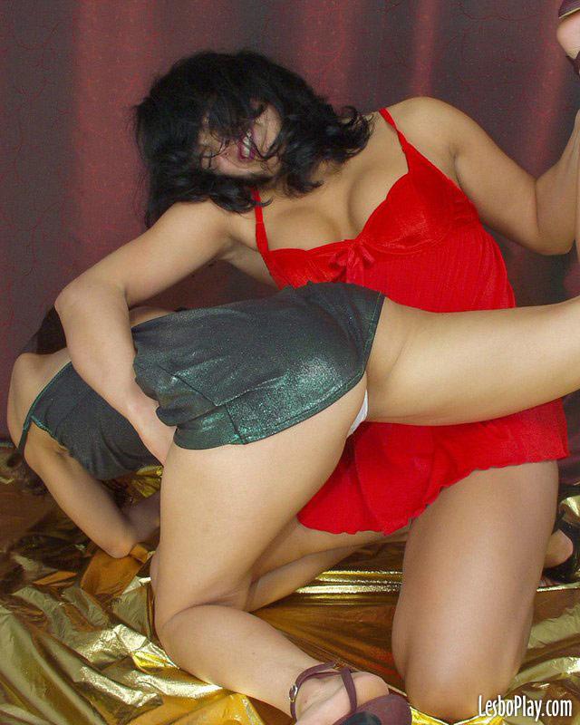 Sexy stripfighting girls